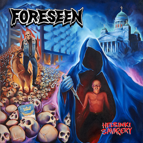 TIB#22: FORESEEN – Helsinki Savagery LP/CS available now!