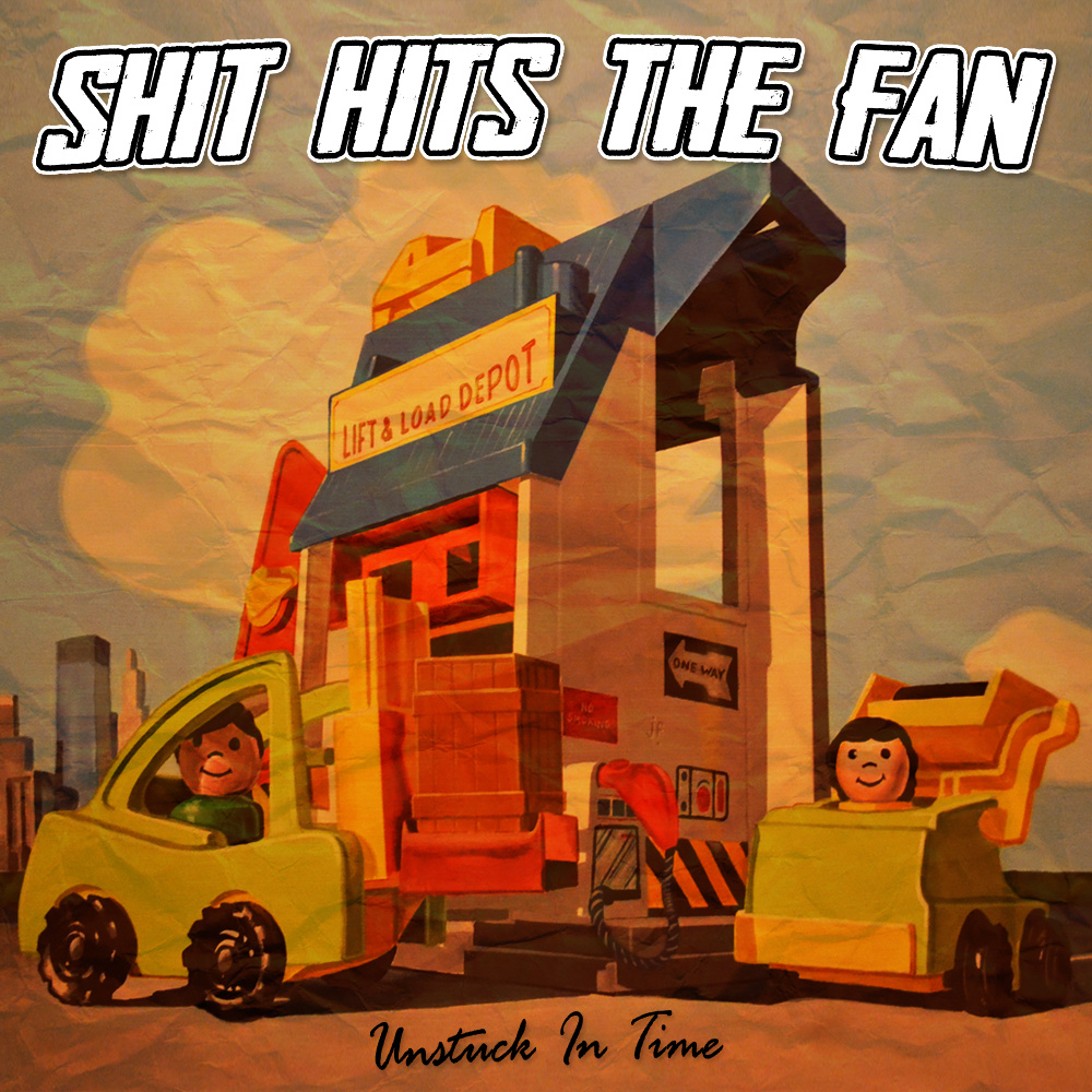 "Shit Hits The Fan post new EP ""Unstuck In Time"""