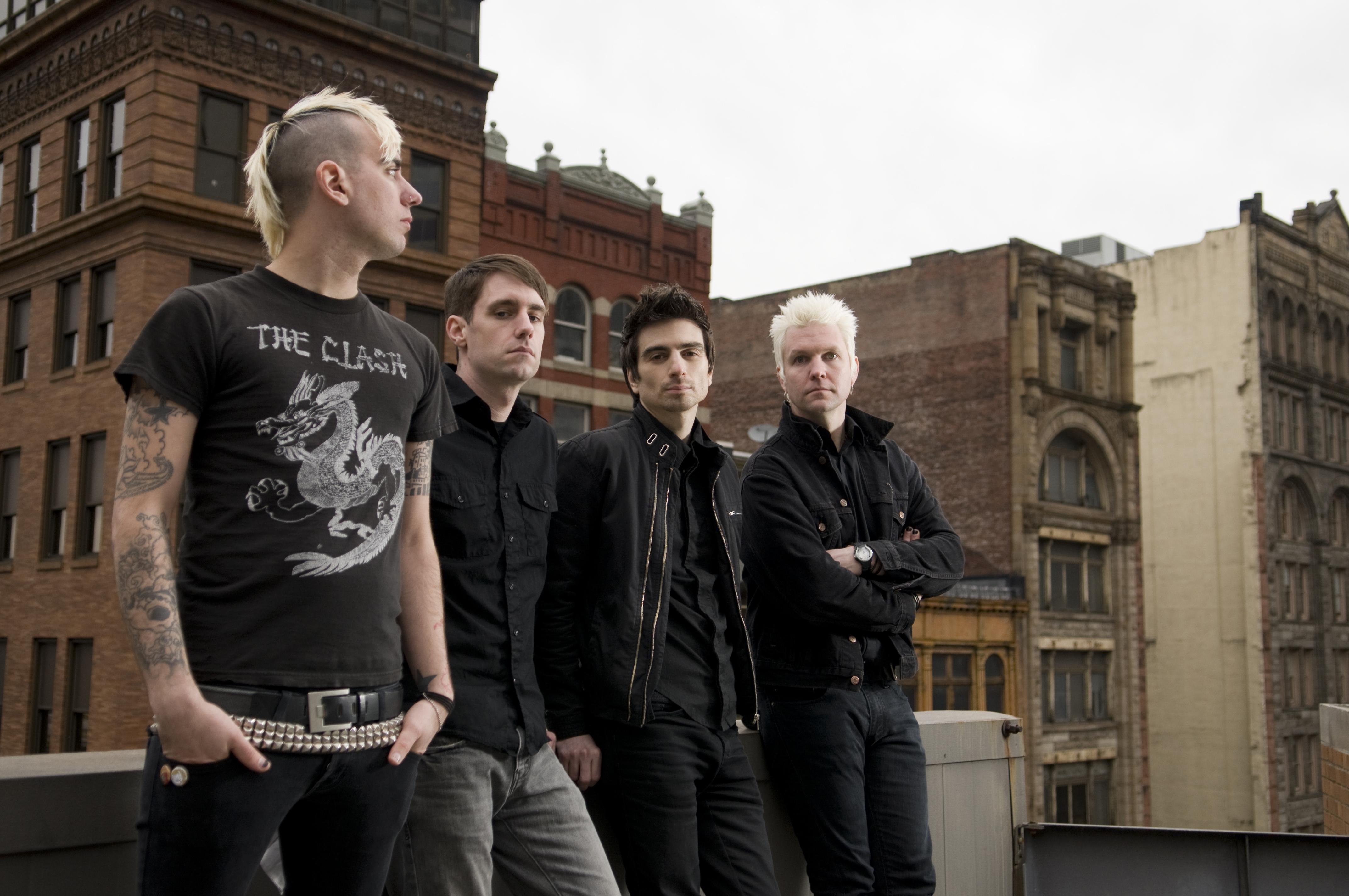 Anti-Flag playing exclusive NL show at De Kelder