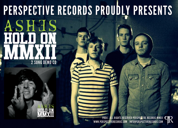 Ashes joins Perspective Records