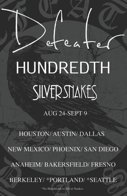Defeater announces West Coast tour in August