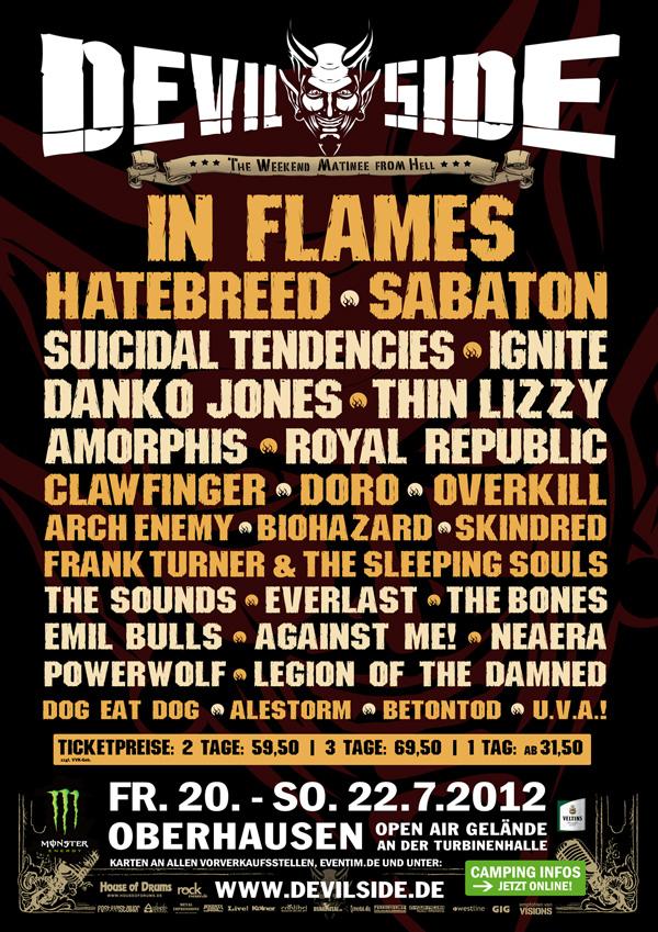 Devil Side festival 2012 in Germany