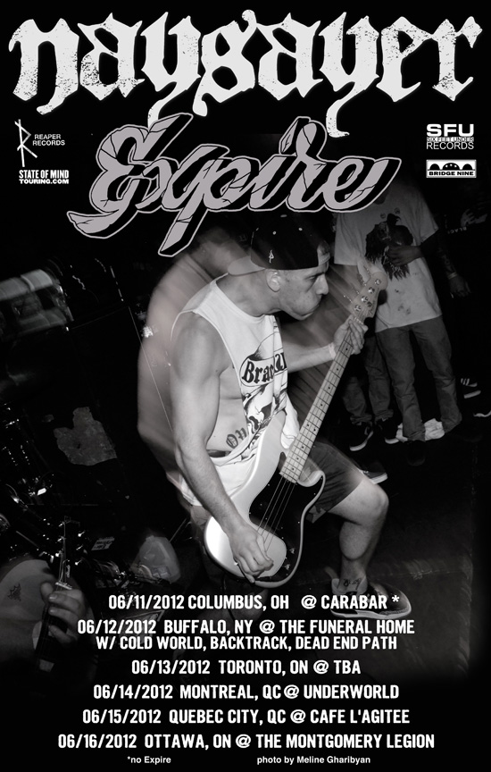 Expire announced more North American shows