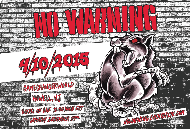 No Warning playing first North American show in 10 years
