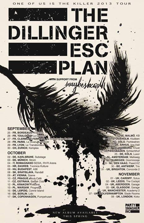 The Dillinger Escape Plan @ Melkweg, Amsterdam