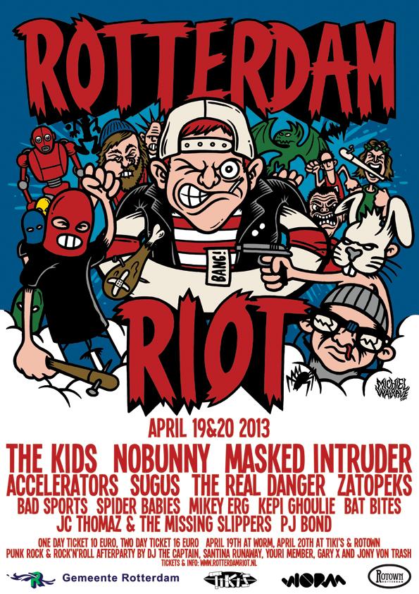1st edition Rotterdam Riot