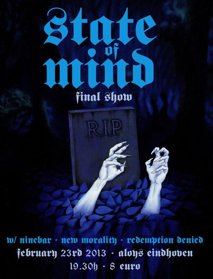 State Of Mind + Ninebar + New Morality + Redemption Denied @ Aloys, Eindhoven