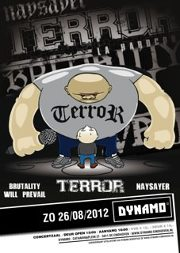 Terror, Naysayer, BWP & Risk It! @ Dynamo Eindhoven 26-8-2012