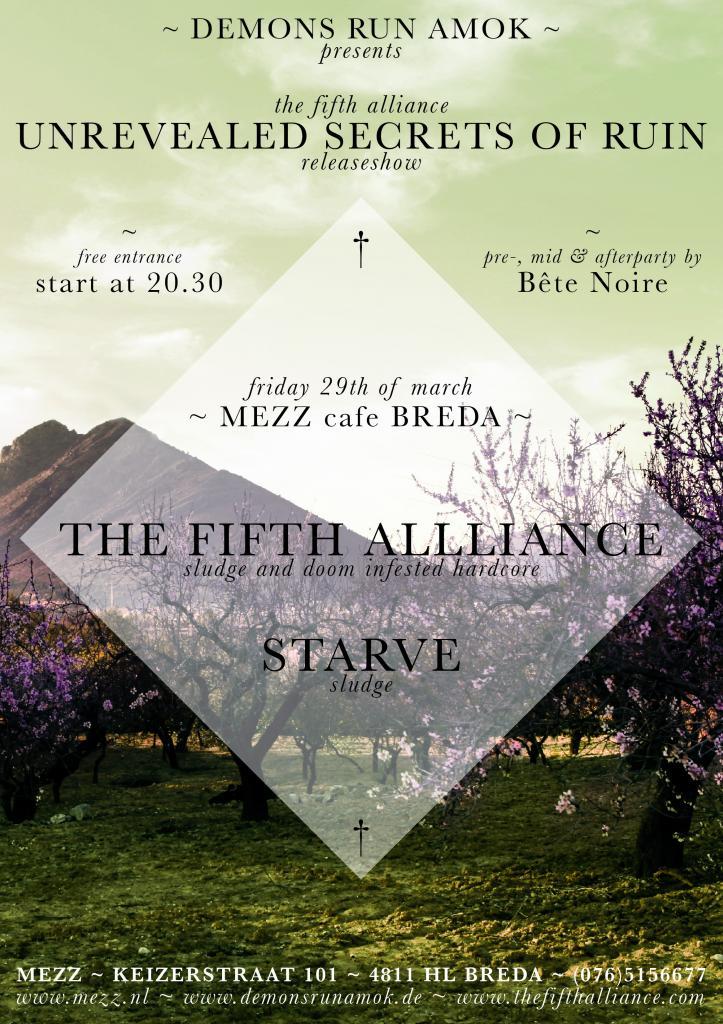 The Fifth Alliance release new album on Demons Run Amok